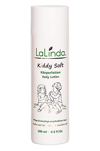 LaLinda - Naturkosmetik Bodylotion für Kinder und Babys Leichte Creme zur Pflege von trockener Haut...