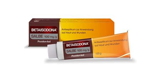 Betaisodona® Salbe 100 g Wunddesinfektion für Erwachsene und Kinder ab 6 Monaten,...
