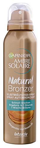 Garnier Selbstbräuner für Gesicht und Körper, Langanhaltende, natürliche Bräune, Ambre Solaire...
