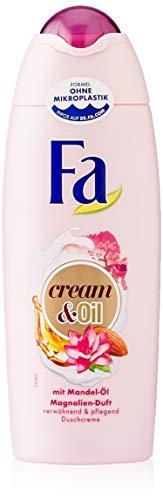 FA Duschcreme Cream & Oil mit Mandel-Öl und Magnolien-Duft, 6er Pack (6 x 250 ml)
