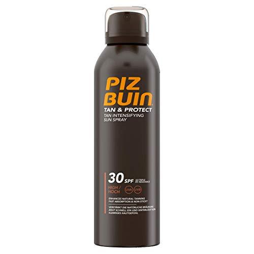 PIZ BUIN Tan & Protect Tan Intensifying Sun Spray, Bräunungsintensivierendes Sonnenspray, LSF 30, 1...