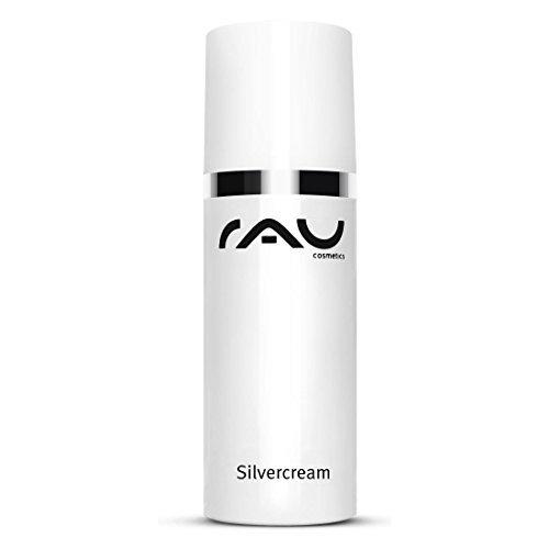 RAU Silvercream 50 ml - Silbercreme bei Unreiner Haut, Akne, Pickel und Neurodermitis