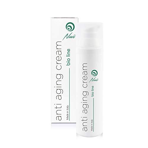 Nuvo' Gesichtscreme mit 72% Schneckenschleim, Hyaluronsäure, Traubenkernöl, Aloe vera Maxi...