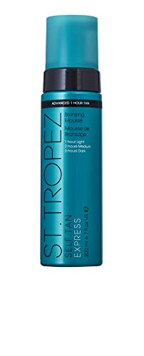 St.Tropez Self Tan Express Bronzing Mousse, 1er Pack (1 x 200 ml)