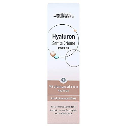medipharma cosmetics Hyaluron Sanfte Bräune Körperpflege