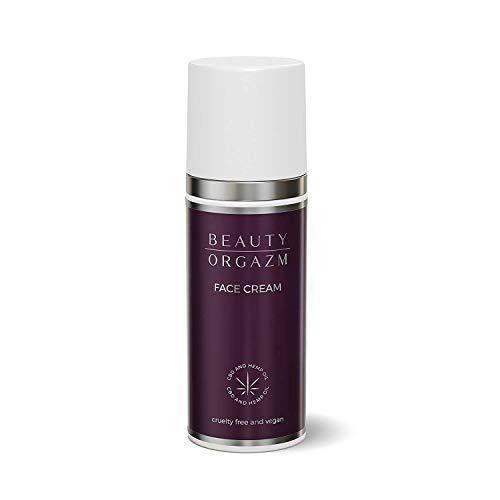 Beauty Orgazm® Anti-Aging Gesichtscreme mit Bio Hanf Öl und Hyaluronsäure, vegane Naturkosmetik -...