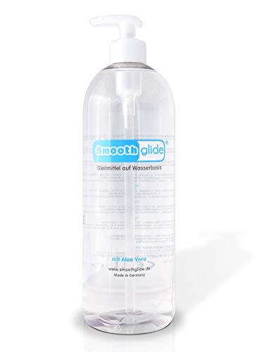 Smoothglide Medizinisches Gleitmittel Wasserbasierend mit Aloe Vera pH-optimiert 1000ml