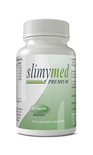 SLIMYMED Premium Kapseln | 100% natürliche Inhaltsstoffe | schnell & einfach zur Einnahme | ohne...