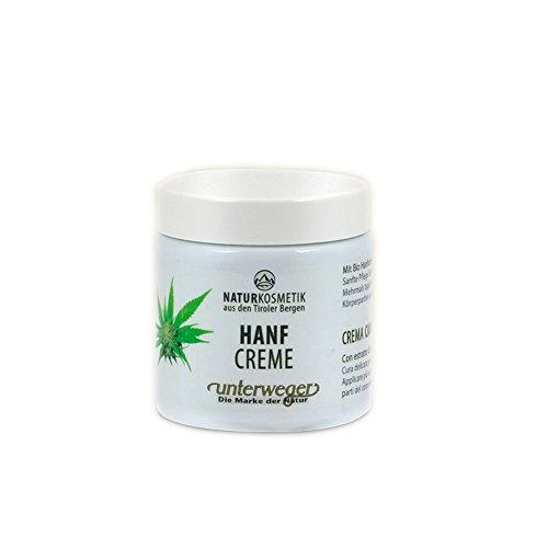 Unterweger HANF CREME für anspruchsvolle und empfindliche Haut 100 ml – NATURKOSMETIK mit reinem...