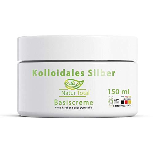 Kolloidales Silber Creme - 150 ml - eine natürliche Silbercreme - Silber Basiscreme -...