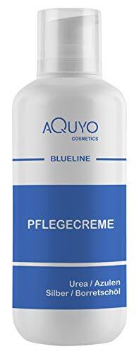 Blueline Creme bei Ekzem, Hautpilz, Psoriasis oder Neurodermitis (500ml Spender) | Körpercreme für...