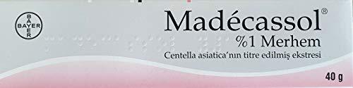 MADECASSOL ® 40 gr (Centella 1%) Creme gegen Narben, Flecken, Verbrennungen...