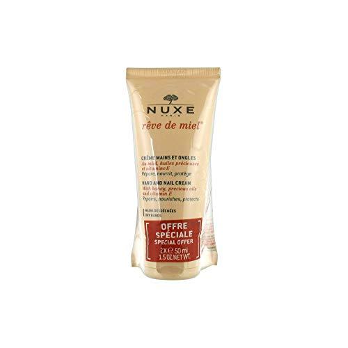 Nuxe Hand- und Nagelcreme 50 ml, 2 Stück