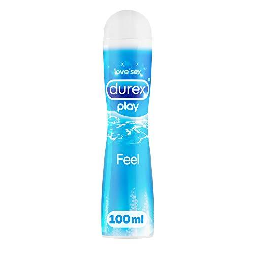 Durex Play Feel Gleitgel auf Wasserbasis – Leichtes, seidiges Gleitgel für gefühlsechtes...
