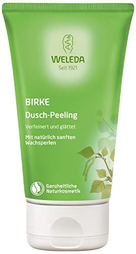 WELEDA Birke Dusch-Peeling, Naturkosmetik Körperpeeling für spürbar seidig glatte Haut,...