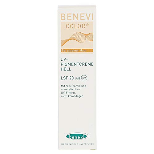BENEVI Color UV-Pigmentcreme hell LSF 20 15 ml Creme