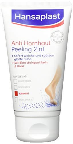 Hansaplast Anti Hornhaut 2in1 Peeling, Hornhaut Entfernung mit Bimsstein und Gebirgssalz,...