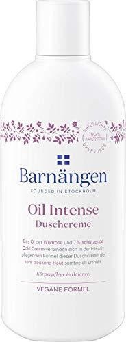 Barnängen Duschcreme Oil Intense, Creme für sehr trockene Haut, Naturkosmetik, Vegan 5er Pack (5 x...