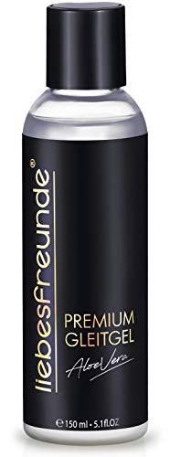 liebesfreunde® Premium Gleitgel wasserbasiert ALOE VERA - Gleitmittel I Lube für mehr Genuss, 150...