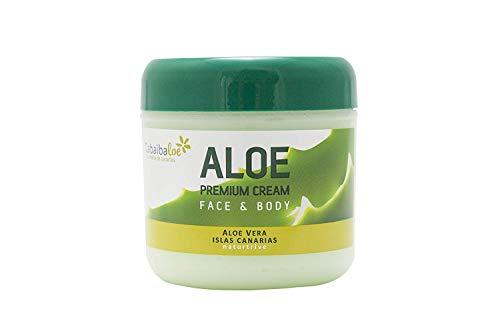 Premium Aloe Vera-Creme Gesicht und Körper 300 ml Tabaibaloe