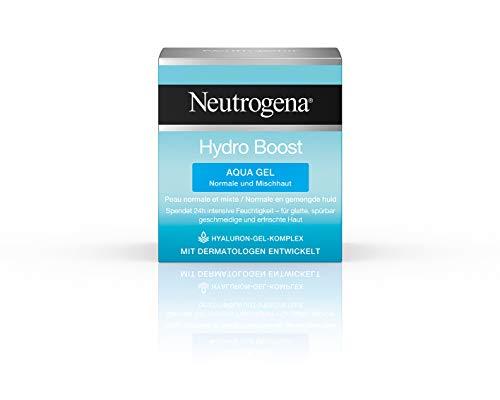 Neutrogena Hydro Boost Aqua Gel, Feuchtigkeitsgel mit Hyaluronsure Komplex fr 24H intensive...