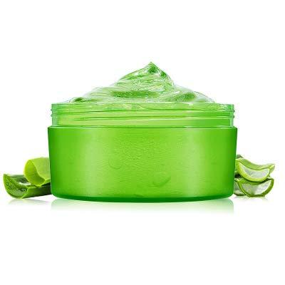 Aloe Vera Gel 300ml Natürliche beruhigende und pflegende Feuchtigkeitscreme Bio Creme 99% Pur,...