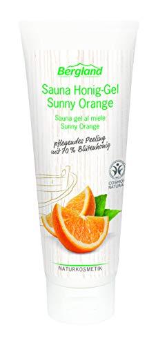 Bergland Sauna Honig-Gel Sunny Orange, 3er Pack (3x 125 g)