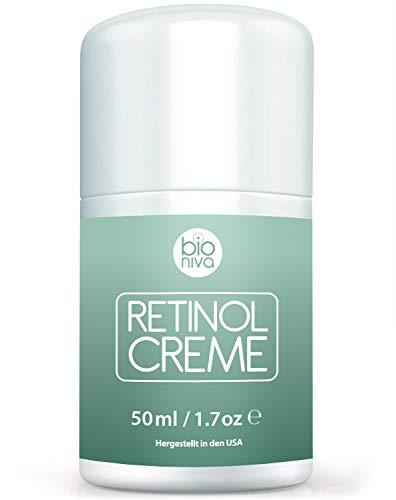Retinol Lift Creme Testsieger 2019-2.5% Retinol Liposomen Liefersystem mit Vitamin C & Botanische...
