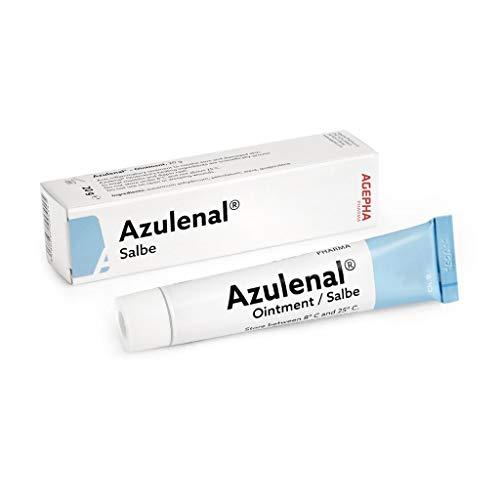 Azulenal® Wund und Heilsalbe - Natürlich Entzündungshemmende Salbe After Ekzem Wundsalbe Baby...