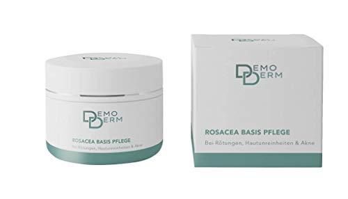 DEMODERM Basis Creme wohltuend bei Rosacea, Pickel, Akne und geröteter Haut - 20 g Creme zur...