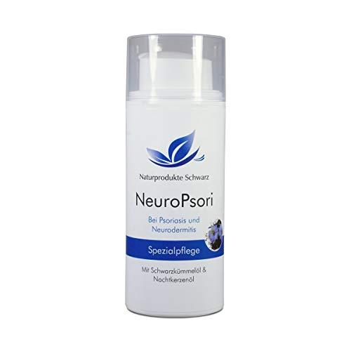 Naturprodukte Schwarz - NeuroPsori Spezialpflege Creme, Hautpflege bei Psoriasis und Neurodermitis