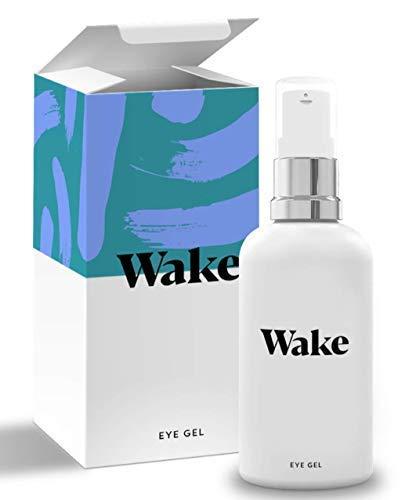 Wake Skincare Augengel  NEUE UND VERBESSERTE FORMEL - Luxurioeses Augencreme gegen muede Augen,...