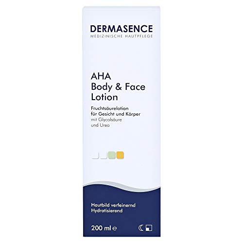Dermasence AHA Body & Face Lotion, 200 ml