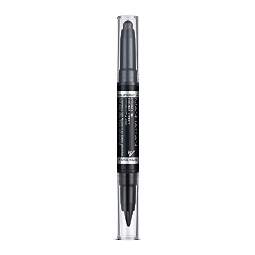 Manhattan Eyemazing Double Effect Eyeshadow & Liner – Schwarzer 2-in-1 Lidschatten & Eyeliner...