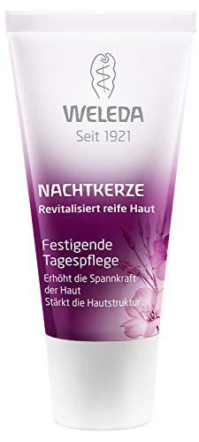WELEDA Nachtkerze Festigende Tagespflege, vitaminreiche Naturkosmetik Pflegecreme für reife Haut im...