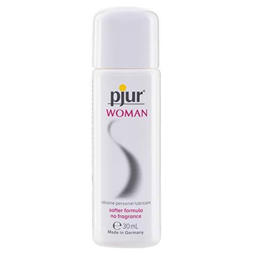 pjur WOMAN - Gleitgel für Frauen auf Silikonbasis - für prickelnden Sex und längeren Spaß -...
