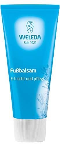 WELEDA Fußbalsam, Naturkosmetik Fußpflege zur Vorbeugung und Behandlung von Hornhaut, Fußcreme...