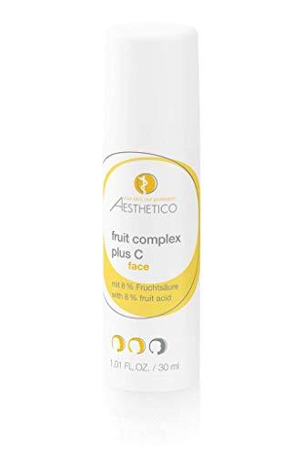 AESTHETICO fruit complex plus C - 30 ml - Intensive Anti-Aging-Fruchtsurecreme mit Vitamin C,...