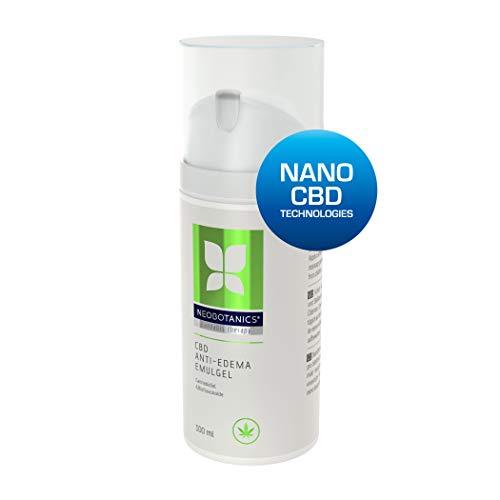 NEOBOTANICS® Anti Ödeme CBD Gel mit dem Wirkstoff Cannabidiol. Lindert sofort geschwollene, müde,...