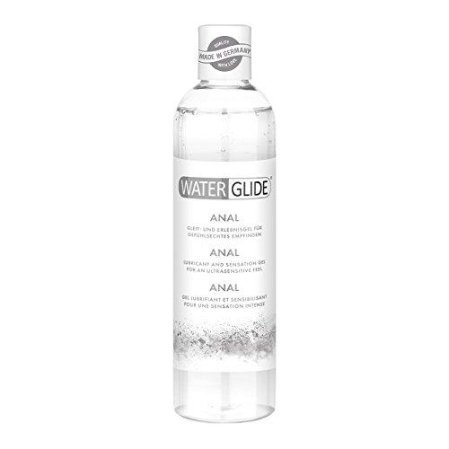 Anal-Gleitgel Waterglide, wasserbasierte Langzeitwirkung, Analverkehr und Toys, 300 ml