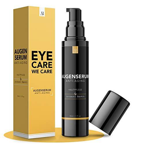NEU: Augencreme Männer - 3-FACHE GRÖSSE 50ML - Frische Augen in 5min dank Hyaluron & Vitamin C -...