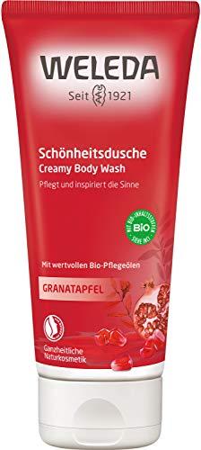 WELEDA Granatapfel Schönheitsdusche, pflegende Naturkosmetik Waschlotion zur Pflege von Körper,...