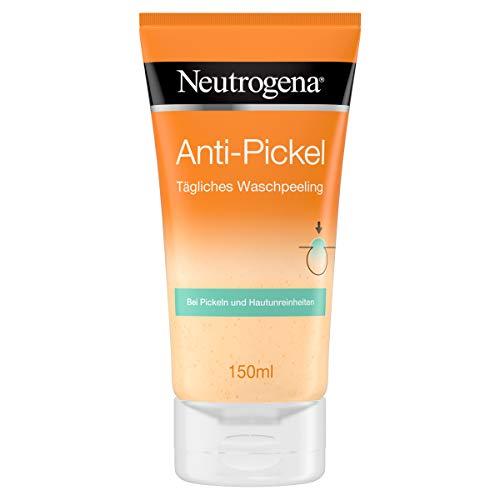 Neutrogena Anti-Pickel Gesichtsreinigung, Tägliches Peeling mit Salicylsäure, 150ml