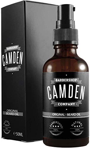 Bartöl/Beard Oil von Camden Barbershop Company ● ORIGINAL ● rein natürliche Bartpflege ●...