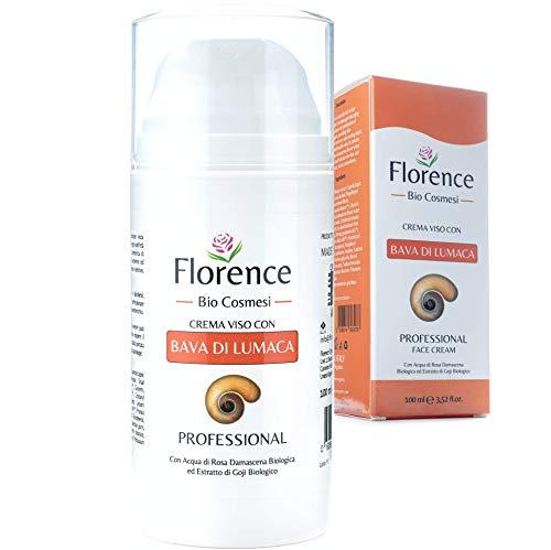 Größe 100ml* Bio-Creme 61% Schneckenschleim mit Hyaluronsäure und Vitamin C+E – Tages- und...