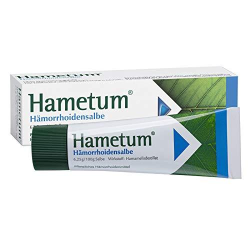 Hametum Hämorrhoidensalbe – Lindert die Beschwerden bei beginnenden Hämorrhoiden – Mit...