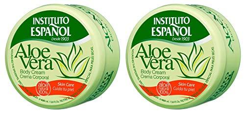 Instituto Español Aloe Vera Körpercreme 400ml x 2 Einheiten