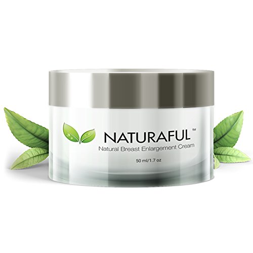 NATURAFUL - (1 JAR) TOP RATED Breast Enhancement Cream - Natural Breast Enlargement, Firming and...