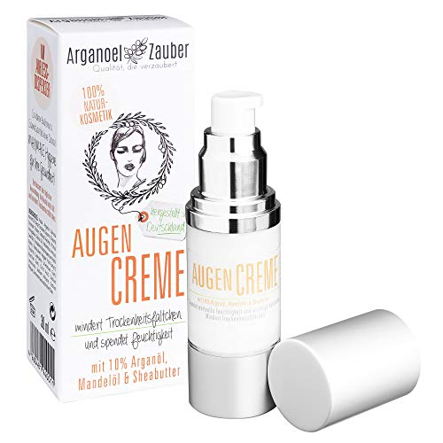 Arganoel Zauber Augencreme mit 10% Arganöl spendet Feuchtigkeit ohne zu reizen effektive...