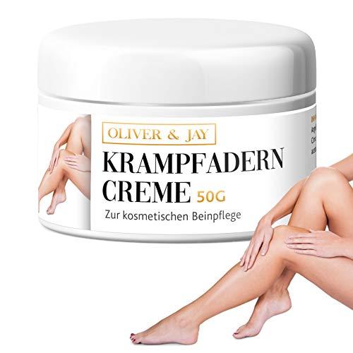 Krampfadern Creme zur kosmetischen Beinpflege │ Krampfadern natürlich behandeln & Besenreiser...